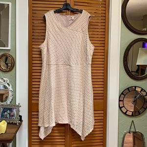 Cato Dress Size 26W pink/cream